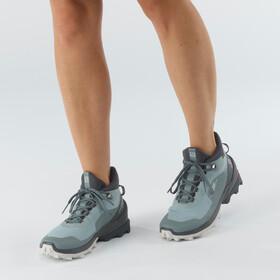 Salomon Cross Over Chukka GTX Shoes Women, slate/ebony/lunar rock